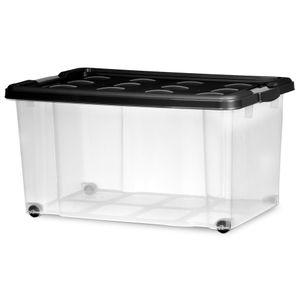Caixa-Organizadora-Container-50-Litros-com-Rodinha-Tampa-Preta---Niquelart
