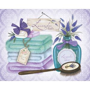 Placa-em-MDF-e-Papel-Decor-Home-Lavander-Bath-DHPM-078---Litoarte