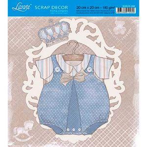 Papel-Scrap-Decor-Folha-Simples-20x20-Roupinha-Menino-SDSXX-032---Litoarte