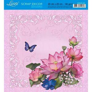 Papel-Scrap-Decor-Folha-Simples-20x20-Flores-SDSXX-041---Litoarte