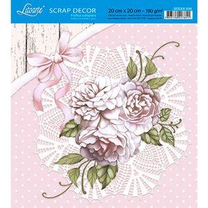 Papel-Scrap-Decor-Folha-Simples-20x20-Flores-SDSXX-020---Litoarte
