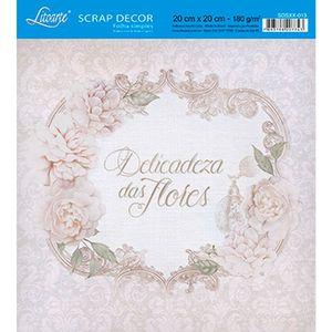 Papel-Scrap-Decor-Folha-Simples-20x20-Delicadeza-das-Flores-SDSXX-013---Litoarte