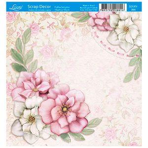 Papel-Scrap-Decor-Folha-Simples-15x15-Flores-Cantoneira-SDSXV-066---Litoarte