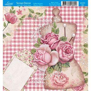 Papel-Scrap-Decor-Folha-Simples-15x15-Flores-SDSXV-065---Litoarte
