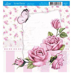 Papel-Scrap-Decor-Folha-Simples-15x15-Rosas-SDSXV-062---Litoarte
