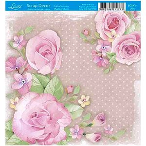 Papel-Scrap-Decor-Folha-Simples-15x15-Rosas-SDSXV-074---Litoarte