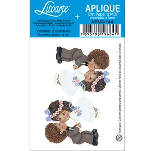 Aplique-Decoupage-em-Papel-e-MDF-Noivos-Afros-APM4-144---Litoarte