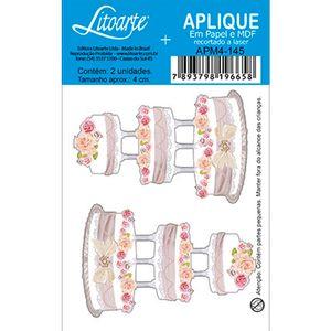 Aplique-Decoupage-em-Papel-e-MDF-Bolo-com-Flores-e-Tres-Andares-APM4-145---Litoarte