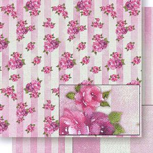 Papel-Scrapbook-Dupla-Face-Rosa-e-Listras-SD-418---Litoarte
