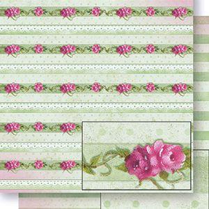 Papel-Scrapbook-Dupla-Face-Listras-e-Flores-SD-420---Litoarte