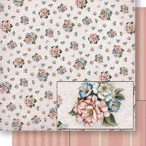 Papel-Scrapbook-Dupla-Face-Flores-SD-426---Litoarte
