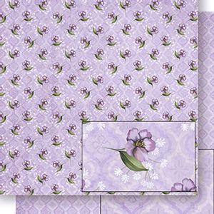 Papel-Scrapbook-Dupla-Face-Flores-SD-430---Litoarte