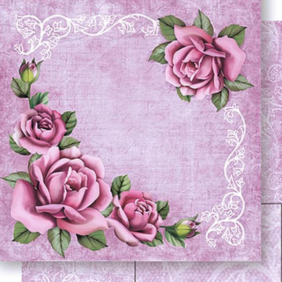 Papel-Scrapbook-Dupla-Face-Cantoneira-Rosas-SD-433---Litoarte