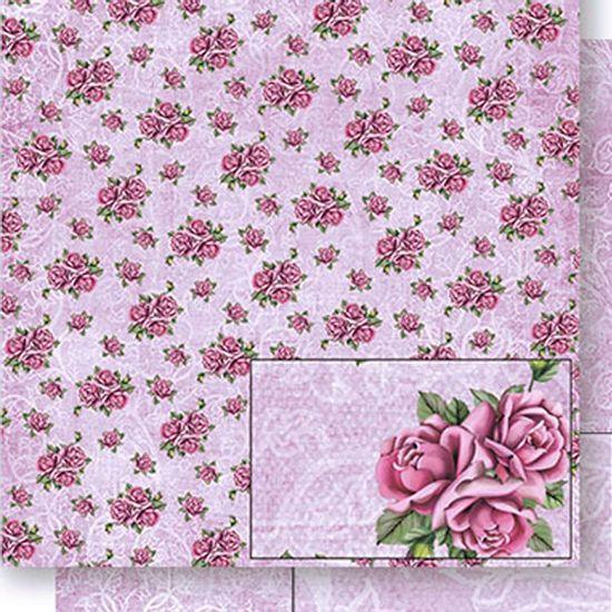 Papel-Scrapbook-Dupla-Face-Rosas-e-Arabescos-SD-434---Litoarte
