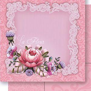Papel-Scrapbook-Dupla-Face-La-Fleur-SD-435---Litoarte