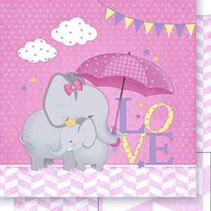 Papel-Scrapbook-Dupla-Face-Elefantes-Meninas-SD-389---Litoarte