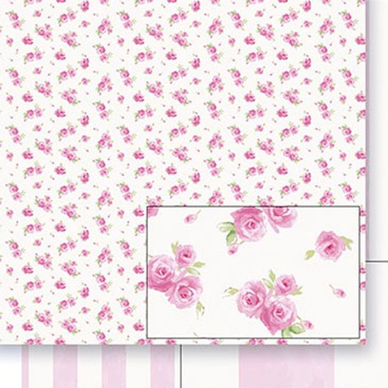 Papel-Scrapbook-Dupla-Face-Rosas-SD-402---Litoarte