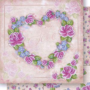 Papel-Scrapbook-Dupla-Face-Coracao-de-Rosas-SD1044-Lili-Negrao---Litoarte