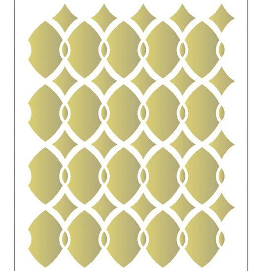 Estencil-para-Pintura-Simples-15x20-Estampa-Corrente-OPA2056---Opa