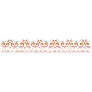 Estencil-para-Pintura-Simples-4x30-Arabesco-Bordado-OPA1921---Opa