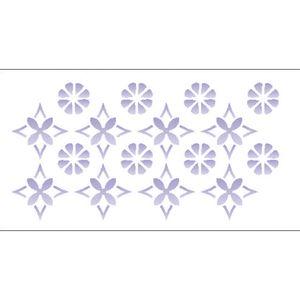Estencil-para-Pintura-Simples-7x15-Estampa-Flor-OPA1955---Opa