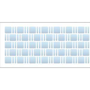 Estencil-para-Pintura-Simples-7x15-Estampa-Textura-II-OPA1958---Opa