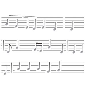 Estencil-para-Pintura-Simples-20X25-Notas-Musicais-OPA2074---Opa