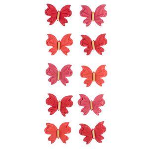 Adesivo-Mini-Borboletas-de-Papel-Rouge-Colecao-Feito-a-Mao-AD1687---Toke-e-Crie