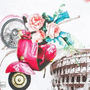 Guardanapo-Amor-em-Roma-GCD211446---Toke-e-Crie