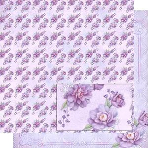 Papel-Scrapbook-Dupla-Face-Flores-Lilas-SD-467---Litoarte