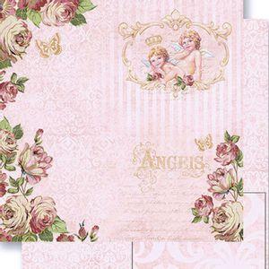 Papel-Scrapbook-Dupla-Face-Rosas-e-Anjos-SD-484---Litoarte