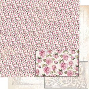 Papel-Scrapbook-Dupla-Face-Rosas-SD-487---Litoarte