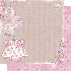 Papel-Scrapbook-Dupla-Face-Roupa-Baby-Menina-SD-490---Litoarte
