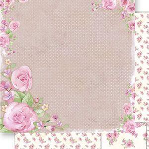 Papel-Scrapbook-Dupla-Face-Rosas-SD-494---Litoarte