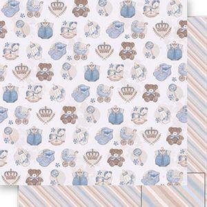 Papel-Scrapbook-Dupla-Face-Roupas-e-Ursinhos-Menino-SD-496---Litoarte