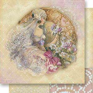 Papel-Scrapbook-Dupla-Face-Noiva-Vintage-SD-534---Litoarte