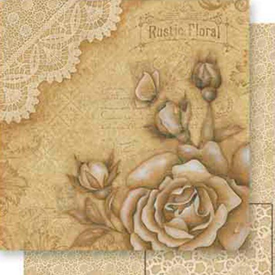 Papel-Scrapbook-Dupla-Face-Rosas-e-Rendas-SD-546---Litoarte