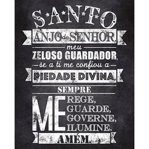 Placa-em-MDF-e-Papel-Decor-Home-Oracao-Santo-Anjo-DHPM-108---Litoarte