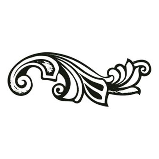 Carimbo-em-Borracha-Arabesco-CLP-031---Litoarte