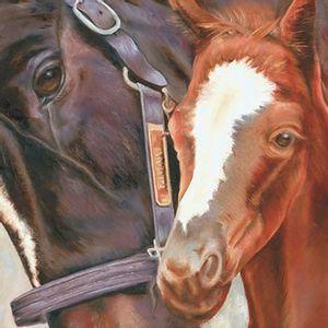 Papel-Transfer-30x30-Casal-de-Cavalos-PT30-021---Litoarte