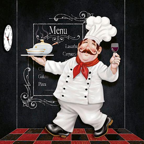 Papel-Decoupage-Arte-Francesa-Cozinheiro-Fofao-AFQ-353---Litoarte