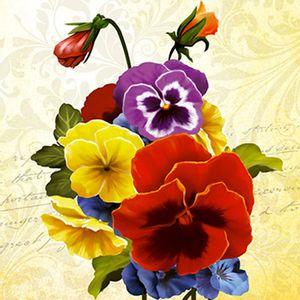 Papel-Decoupage-Arte-Francesa-Amor-Perfeito-e-Rosas-AFQ-366---Litoarte
