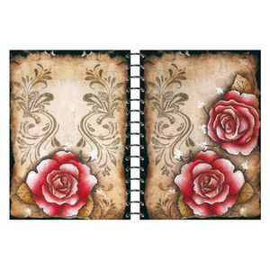 Caderno-Capa-de-Madeira-285x21-Rosas-e-Arabescos-LMC-003---Litocart
