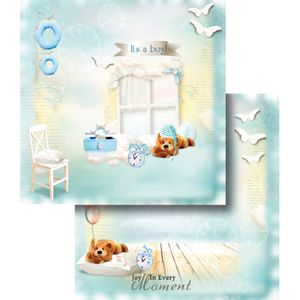 Papel-Scrapbook-Dupla-Face-Moment-Boy-LSCD-354---Litocart