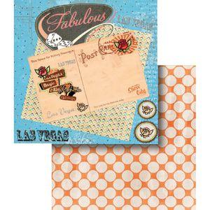 Papel-Scrapbook-Dupla-Face-Las-Vegas-LSCD-358---Litocart