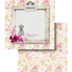 Papel-Scrapbook-Dupla-Face-Love-e-Rosas-LSCD-361---Litocart