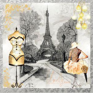 Papel-Scrap-Decor-165x165-Torre-Eiffel-e-Corpete-LSCP-001---Litoarte