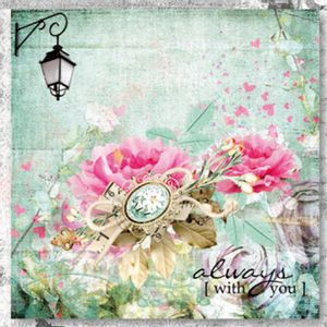 Papel-Scrap-Decor-165x165-Always-Flores-LSCP-012---Litoarte