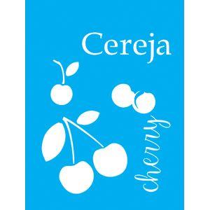 Stencil-para-Pintura-20x15-Cereja-LSM-043---Litocart