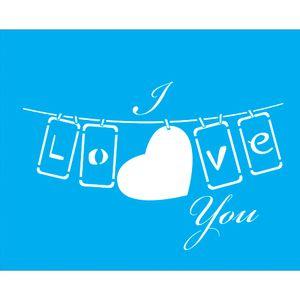 Stencil-para-Pintura-25x20-I-Love-You-LSG-044---Litocart